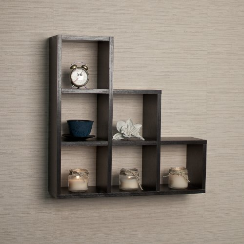 stepped-six-cubby-decorative-black-wall-shelf