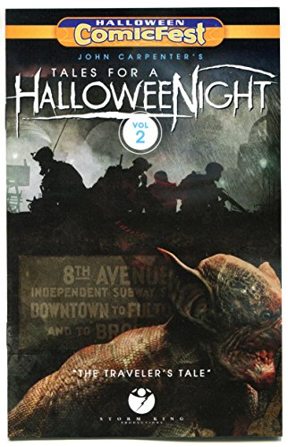 TALES for a HALLOWEEN NIGHT, Halloween Comicfest, Promo, 2016, NM, Ashcan, Horror]()