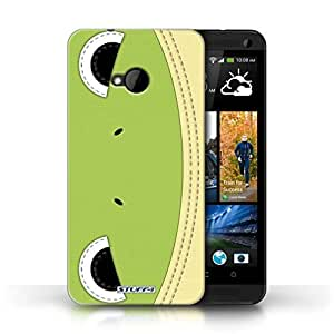 KOBALT? Protective Hard Back Phone Case / Cover for HTC One/1 M7 | Frog Design | Animal Stitch Effect Collection