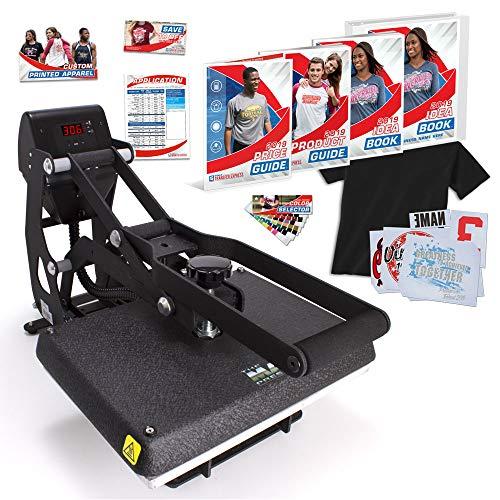 """MAXX Clam 11"""" x 15"""" Heat Press Bundle with Marketing Kit - Warranty - Made in USA"""