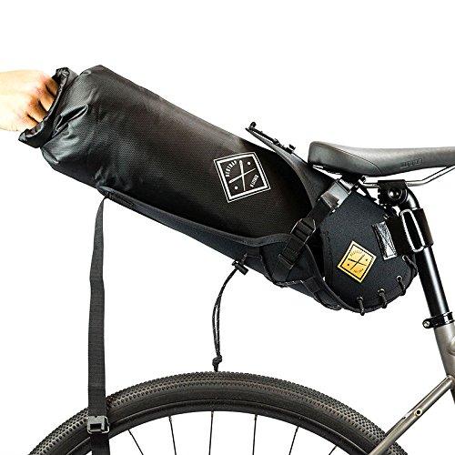 Sattel-Halterung mit Trink-Tasche (8Liter) schwarz/orange