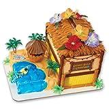 Coconut Beach Cabana Signature DecoSet Cake Decoration