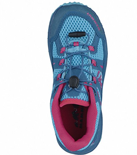 Mammut First Low Kids Backpacking/Hiking Footwear (Low) dark pacific-pink