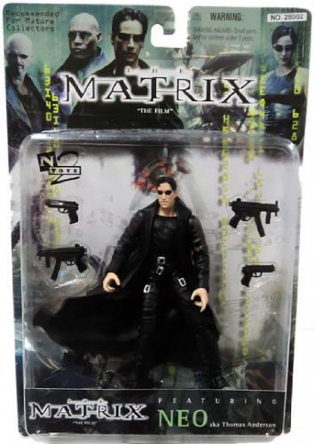 The Matrix The Film Series 2 N2 Toys Mr Anderson Action Figure