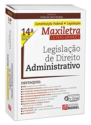 Legislação de Direito Administrativo. Maxiletra. Constituição Federal (+ Legislação)