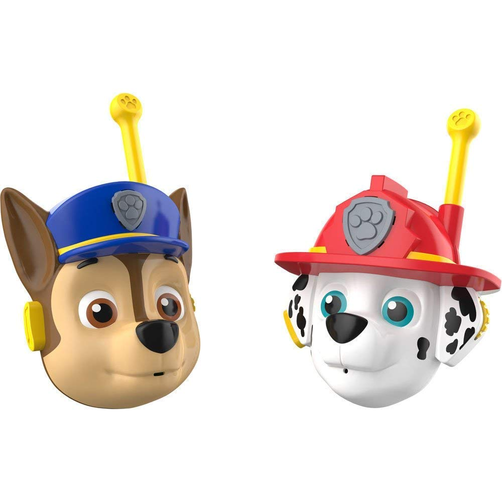 Paw Patrol Walkie Talkies CB Radio 3D Featuring Chase and Marshall by Paw Patrol (Image #2)