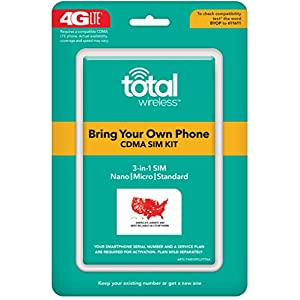 Total Wireless Universal CDMA Sim Kit