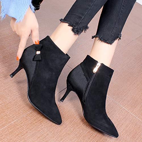 Olici Damen Stiefel Stiefel Stiefel Stiefel Stiefel Stiefel Stiefel Stiefel Stiefel Stiefel mit schmalem Absatz Spitzen c81888