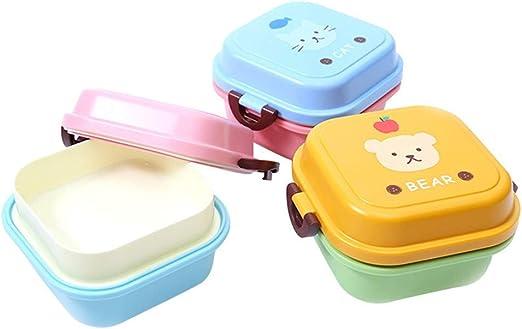P.Z Caja de Almuerzo para niños, Contenedor de Almacenamiento de ...