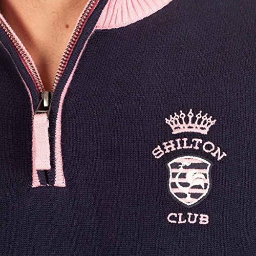 Bleu Rugby Shilton Marine Club Pull qS6awOx74
