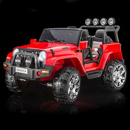 4 Wheel Jeep Stroller - 8