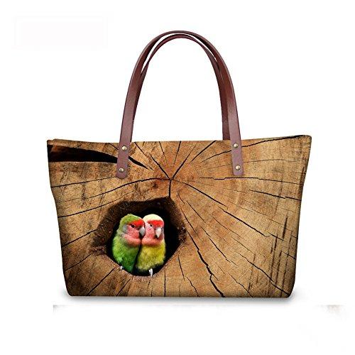 Shoulder Fashion FancyPrint Handbags Bags Women Casual C8wc0922al O7x50xw