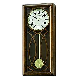SEIKO 23 in. Pendulum Chiming Wall Clock