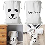 Bigmai Large Toys Shoes Clothes Storage Bags Cotton Bag Household Pouch Bag Home Storage Organizer
