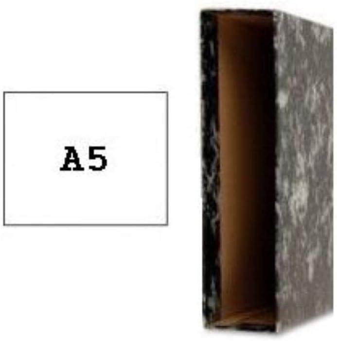 Caja Carton Para Carpeta Archivador A-z A5: Amazon.es: Oficina y ...