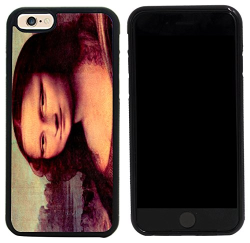 Rikki Knight Case Cover for iPhone 6/6s - Leonardo Da Vinci Art Mona Lisa (Detail) Design