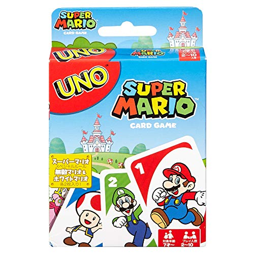 UNO: Super Mario - Card Game (Christmas Sale Boots Card)