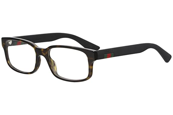 9bc0d3eda1 Amazon.com  Gucci - GG0012O-002 Optical Frame ACETATE  Clothing