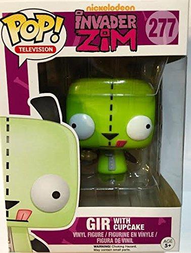 Funko Pop! Television Invader Zim Cupcake Gir #277 Nickelodeon TV -