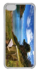 Customized iphone 5C PC Transparent Case - The Look Out Personalized Cover