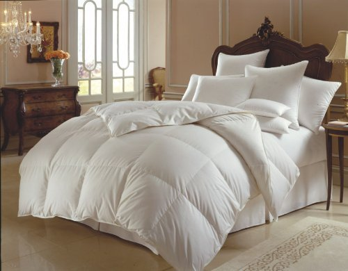 Down Alternative Comforter - WHITE - Duvet Cover Insert - FU
