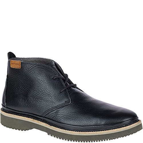 Hush Puppies Mens Fredd Bernard Boot Black Leather mQXYNkS82T