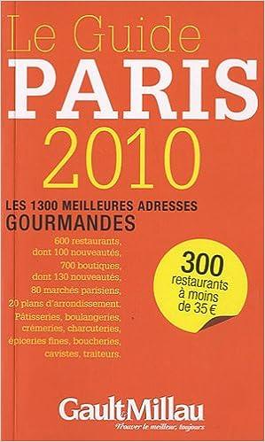 Télécharger en ligne GUIDE DE PARIS 2010 pdf ebook