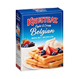 Krusteaz Belgian Waffle Mix, 28 OZ (Pack of 12)
