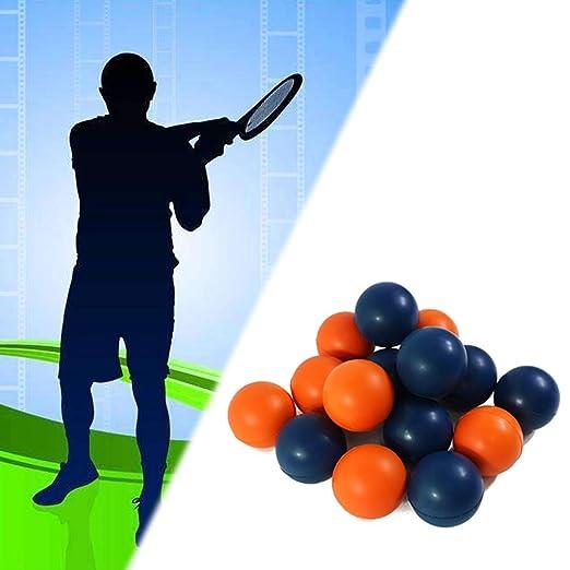 geshiglobal Beginner - Accesorios de competición para Entrenamiento de Pelota de Squash de Velocidad Media y Duradera, Naranja: Amazon.es: Deportes y aire ...