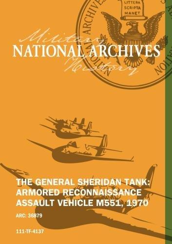 Reconnaissance Tank (THE GENERAL SHERIDAN TANK: ARMORED RECONNAISSANCE ASSAULT VEHICLE M551, 1970)