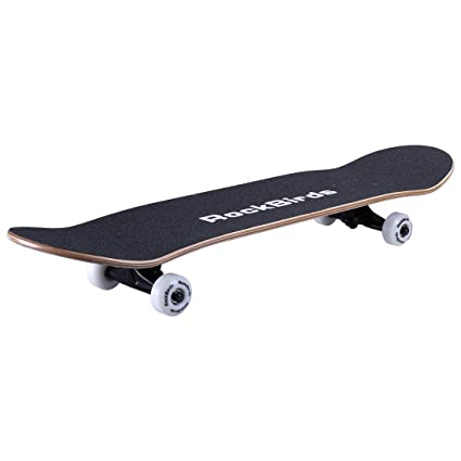f420c237 Amazon.com : RockBirds Skateboards, 31'' Pro Complete Skateboard, 7 Layer  Canadian Maple Skateboard Deck for Extreme Sports and Outdoors : Sports &  Outdoors