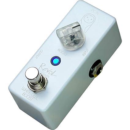 553140d9ac Amazon.com  Revol Effects reヴxoruefekutu Effector Booster White Owl Boost  ECB – 01   Musical Instruments