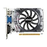 MSI Video Card N730 2GD3V3 GT730 2GB DDR3 128Bit PCI Express 2.0 DVI/HDMI/VGA Retail, Black, White