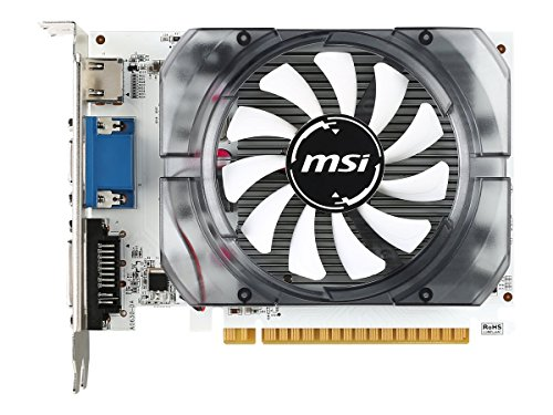 128 Pc Bit Card (MSI GeForce GT 730 Fermi DDR3 128-bit 2GB DirectX 12 (N730 2GD3V3))