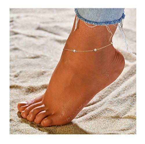 ForeveRing Z Beads Anklets Delicate Beach Foot Jewelry for Women