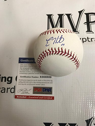 PSA/DNA Authentic Enrique Kike Hernandez Autograph Rawlings Baseball by MVP TRADING CARDS COMPANY