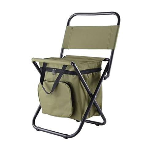 Amazon.com: YAOBAO - Taburetes plegables portátiles, mochila ...