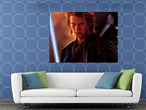 Anakin Skywalker Darth Vader Star Wars Movie Art Huge Giant Print Poster
