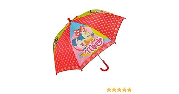 WD16850 Paraguas 57 cm para niña con motivo de Minnie Mouse-Disney: Amazon.es: Equipaje