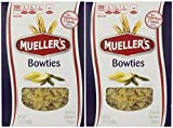 Muellers Pasta Bowties, 12 Ounce (Pack of 2)