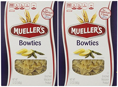 Muellers Pasta Bowties, 12 Ounce (Pack of 2) Tuna Noodle Casserole
