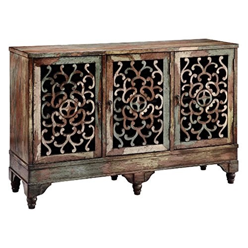 Low Console - Stein World Furniture Ruskin Cabinet, Multi-Color