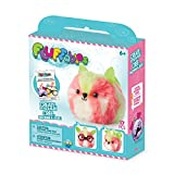The Orb Factory Fluffables Kiwi Arts and Crafts (17 Piece), Pink/Green/White, 5.75'' x 2'' x 6''