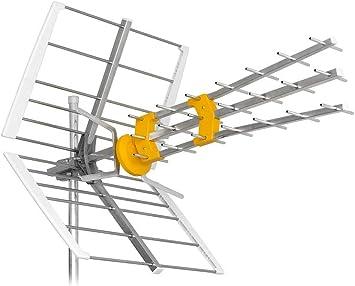 Shine sh45tu/Pro Antena UHF LTE 45 Elementos – Ganancia 17 DB ...