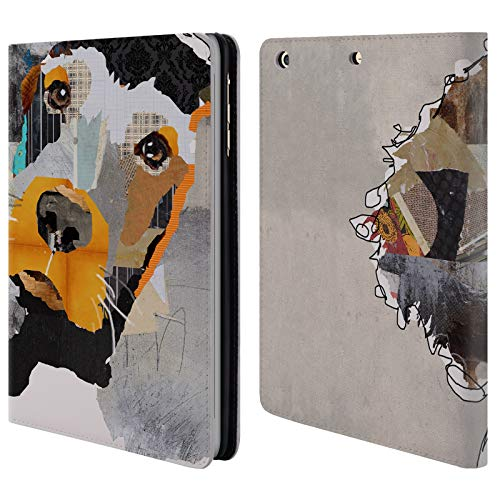 Official Michel Keck Irish Setter Dogs 3 Leather Book Wallet Case Cover for iPad Mini 1 / Mini 2 / Mini 3