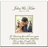 Personalized Wedding Anniversary Gifts Photo Album Custom Engraved Holds 200 4x6 Photos Wedding Gift Ideas By LifeSong Milestones