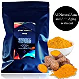 Best Acne Face Masks - Natural Turmeric Antiaging Acne Face Mask Treatment Review