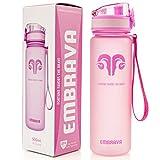 Best Sports Water Bottle - 18oz Small - Eco Friendly & BPA-Free Plastic