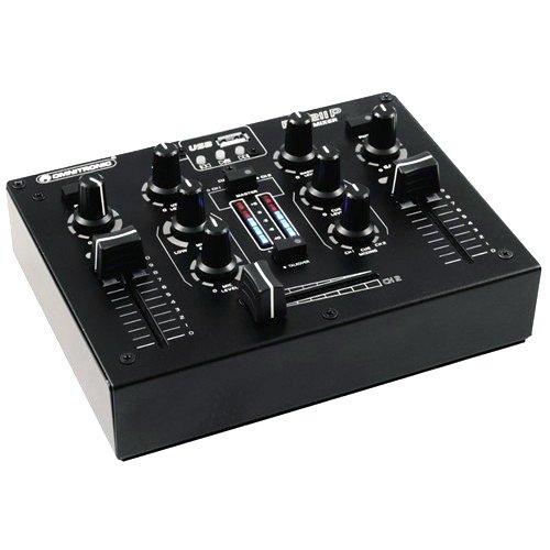 Omnitronic 10006873 PM-211P DJ-Mixer mit Player