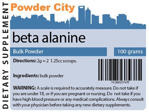 Beta Alanine poudre (100 g)